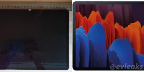 삼성전자 새 갤럭시탭S7플러스 안전인증 획득, 실물사진도 공개돼