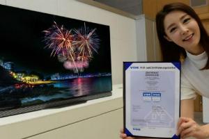 LG전자, 올레드TV로 독일에서 색 재현력 인정받아