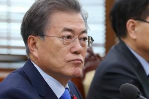 """""""문재인 지지율 63%로 취임 뒤 최저, 평창올림픽 북한 이슈 영향"""