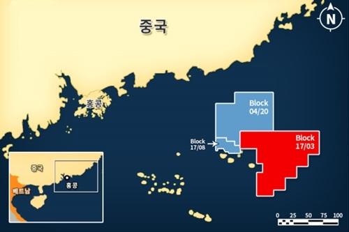 """SK이노베이션, 남중국해 광구에서 원유 탐사 성공"