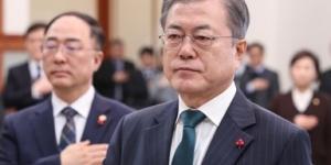"""""""문재인, 홍남기에게 """"K뷰티산업 육성방안도 적극 검토해야"""""""