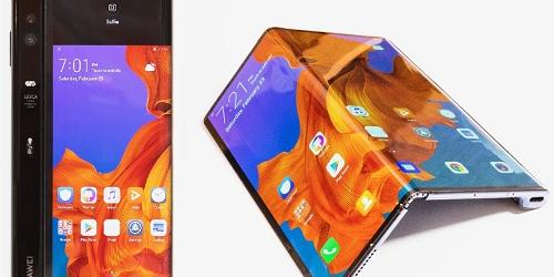 화웨이도 접는 스마트폰 공개, 갤럭시폴드보다 화면 크지만 비싸