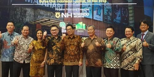 NH투자증권, 인도네시아에서 올해 두 번째 기업공개 성공