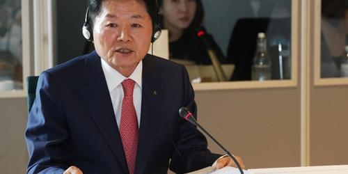 김병원, 국제협동조합농업기구 회의에서 중소농업인 육성 논의