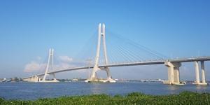 GS건설, 베트남 남부 하우강 횡단하는 '밤콩 다리' 개통