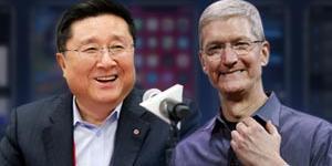 """""""LG디스플레이, 애플에 중소형 올레드 공급 위한 신뢰유지에 총력전"""