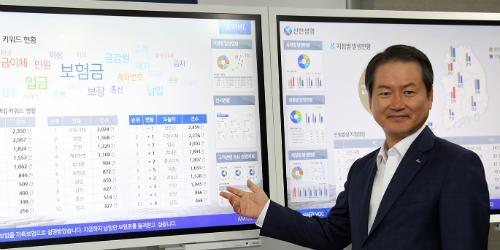 """""""성대규, 신한생명에 빅데이터 기반 '고객중심 경영시스템' 도입"""