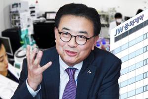 """""""신영섭, JW중외제약 신개념 탈모 치료제로 블록버스터 신약 꿈꿔"""