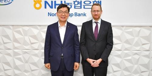 """""""이대훈, 호주 무역대표부와 NH농협은행의 호주 진출 논의"""