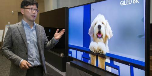 """삼성전자 """"8K TV 화질은 화질선명도만 아니라 다양한 요소 고려해야"""""""