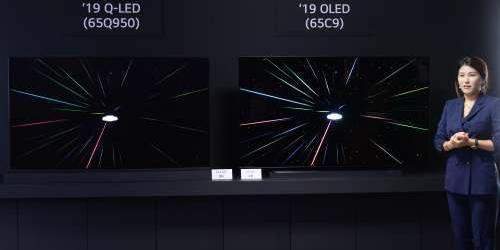 """LG전자는 왜 삼성전자 'QLED 8K TV'를 겨냥해 파상공세 펼칠까"
