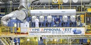현대중공업, 친환경 엔진시장 공략 위해 중형 엔진 새 모델 내놔