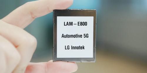 """""""LG이노텍 , 차량용 5G통신모듈 개발해 차량통신부품시장 선점 나서"""