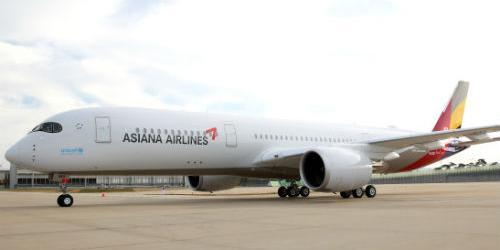 아시아나항공, 장거리 비행에 최적화된 A350 10호기 도입