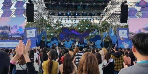 """""""신한카드, 음악축제 '그랜드민트페스티벌' 후원해 현장 이벤트"""