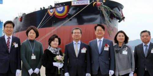 현대글로비스, 30만 톤급 초대형 원유운반선을 선단에 새로 넣어