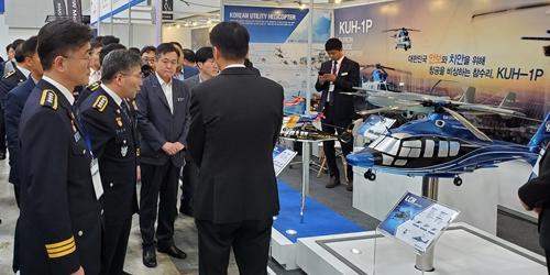 한국항공우주산업, 경찰청 주최 박람회에서 수리온 기반 경찰헬기 홍보