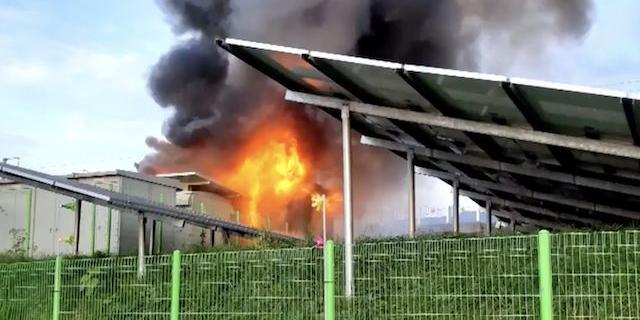 경남 김해 에너지저장장치 또 화재, 제조사 안전대책에도 불안 커져