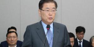 """정의용 """"북한 미사일 능력은 우리 안보에 위중한 위협 안돼"""""""