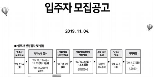 서울주택도시공사, 서울재개발임대주택 1581세대 저소득 입주자 모집