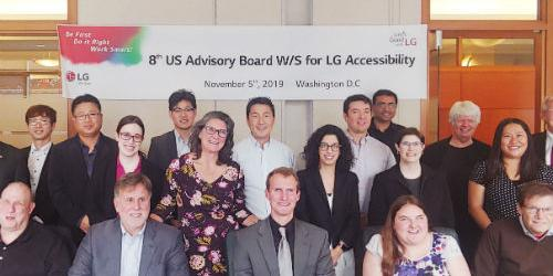 LG전자, 미국에서 장애인의 제품 접근성 높이기 위한 자문단 의견 들어