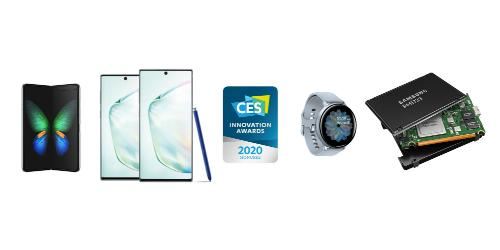 삼성전자 'CES2020' 46개 혁신상 받아, TV는 9년째 최고혁신상