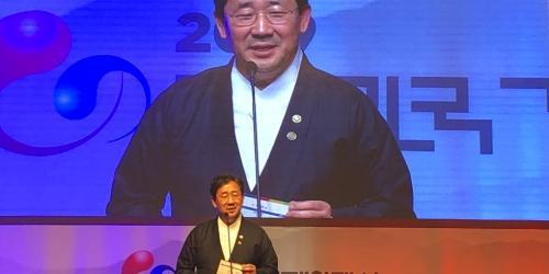 """""""박양우, 대한민국 게임대상에서"""