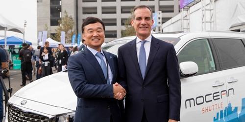"""""""현대차 미국 LA를 모빌리티사업 거점으로 찍어, 차량공유법인 세워"""