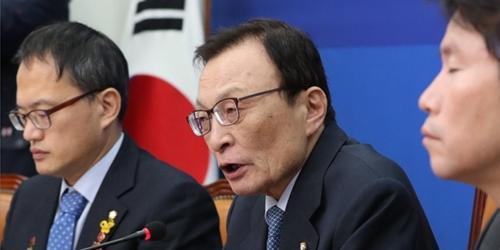 """이해찬 """"한국당의 필리버스터는 쿠데타, 더는 끌려다니지 않겠다"""""""