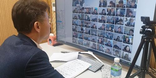 농협중앙회 부회장 허식, 농협중앙회장 공명선거 추진상황 점검