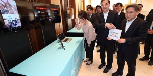 """KT, 차이나모바일과 중국에서 5G통신 로밍서비스 12월 중 시작"