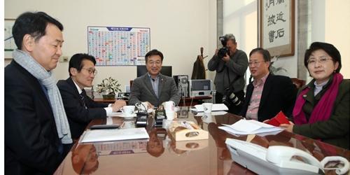 """""""한국당 뺀 여야 4+1 협의체 선거법 합의 불발,"""