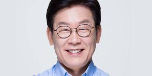 """""""이재명 시도지사 지지율 대폭 올라 3위로 껑충, 김영록 11개월째 1위"""