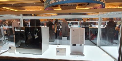 SK매직, CES0에서 혁신상 받은 정수기 공기청정기 식기세척기 전시