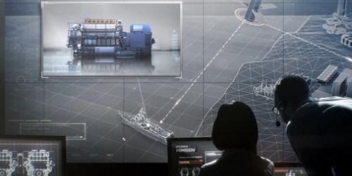 """""""현대중공업, 엔진에 정보통신기술 적용해 선박운전 최적화시스템 개발"""