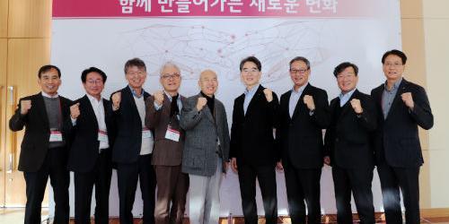 """""""LG디스플레이와 협력사 새해모임 개최, 정호영 """"함께 큰 집 세운다"""