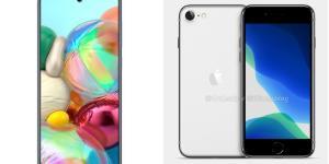 애플 아이폰SE2와 삼성 갤럭시A51 A71, 봄에 보급형 스마트폰 온다