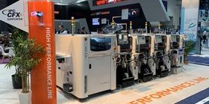 """""""한화정밀기계, 미국 최대 기술전시회에서 첨단 '칩마운터' 알려"""