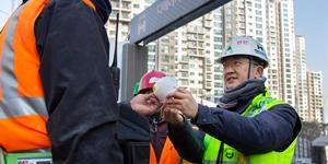 현대건설, 협력업체 노동자에게 신종 코로나 예방 마스크 무상제공