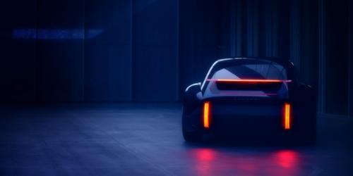 """""""현대차, 제네바모터쇼에서 공개될 전기차 콘셉트카 티저 이미지 공개"""