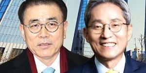 """""""조용병 윤종규 비은행 경쟁, 작년 신한은 '외형' KB는 '내실' 거뒀다"""