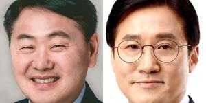 군산에서 무소속 김관영 44.7%, 민주당 신영대 41.1% 접전