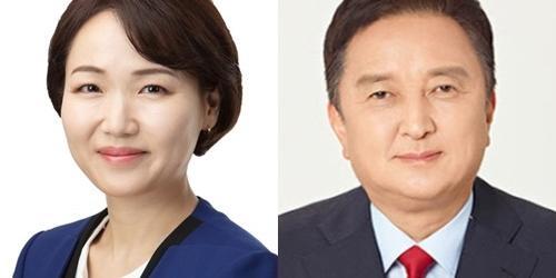 """""""경기 고양병 민주당 홍정민, 통합당 김영환 신도시정책 놓고 정면대결"""
