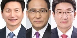 강릉 초접전, 민주당 김경수 28% 무소속 권성동 31.2%