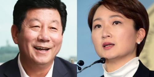 """""""부산 남구을 민주당 박재호 51.2%, 통합당 이언주 37.2%에 우세"""