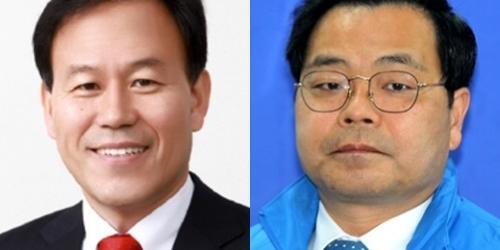"""""""창원 마산회원구 통합당 윤한홍 53%, 민주당 하귀남 32.9%에 우위"""
