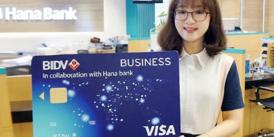 """""""하나은행, 베트남투자개발은행 통해 현지 법인카드 발급서비스 시작"""