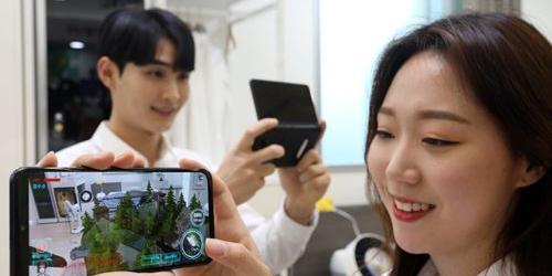 """LG유플러스, 5G통신 증강현실 활용한 게임 3종 새로 내놔"