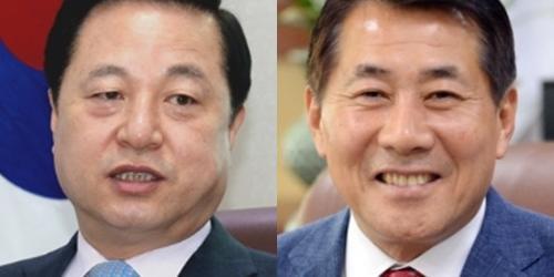 """""""양산시을 팽팽, 민주당 김두관 40.1% 통합당 나동연 46.2%"""