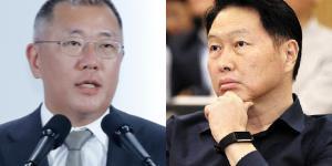 """""""정의선 최태원 만나 현대차와 SK의 전기차배터리 협력 논의한다"""